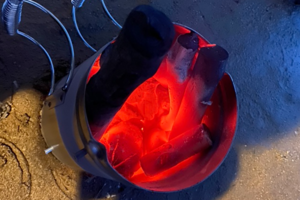 【キャンプ炭火着火】火おこし兼用火消しつぼが超優秀な件